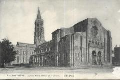- 1 - Toulouse - L'église Saint Sernin - dos 05
