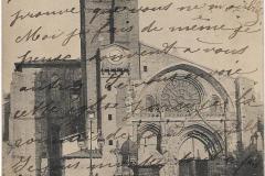 2 - Toulouse - La cathédrale, église saint Etienne  - dos 3