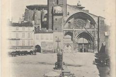 2 - Toulouse - La cathédrale, église saint Etienne  - dos 5