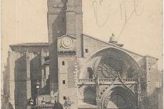 2 - Toulouse - La cathédrale, église saint Etienne  - dos 1