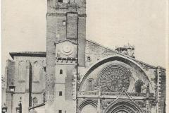 2 - Toulouse - La cathédrale, église saint Etienne  - dos 2